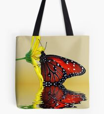 Butterfly Reflection Tote Bag