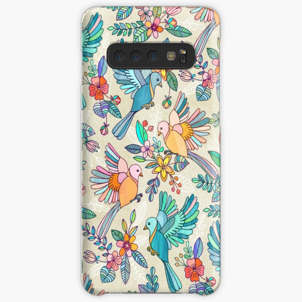 Whimsical Summer Flight Cases & Skins for Samsung Galaxy