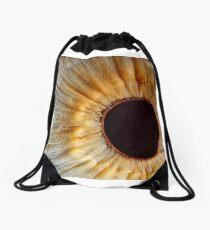 Galaxy eye Drawstring Bag