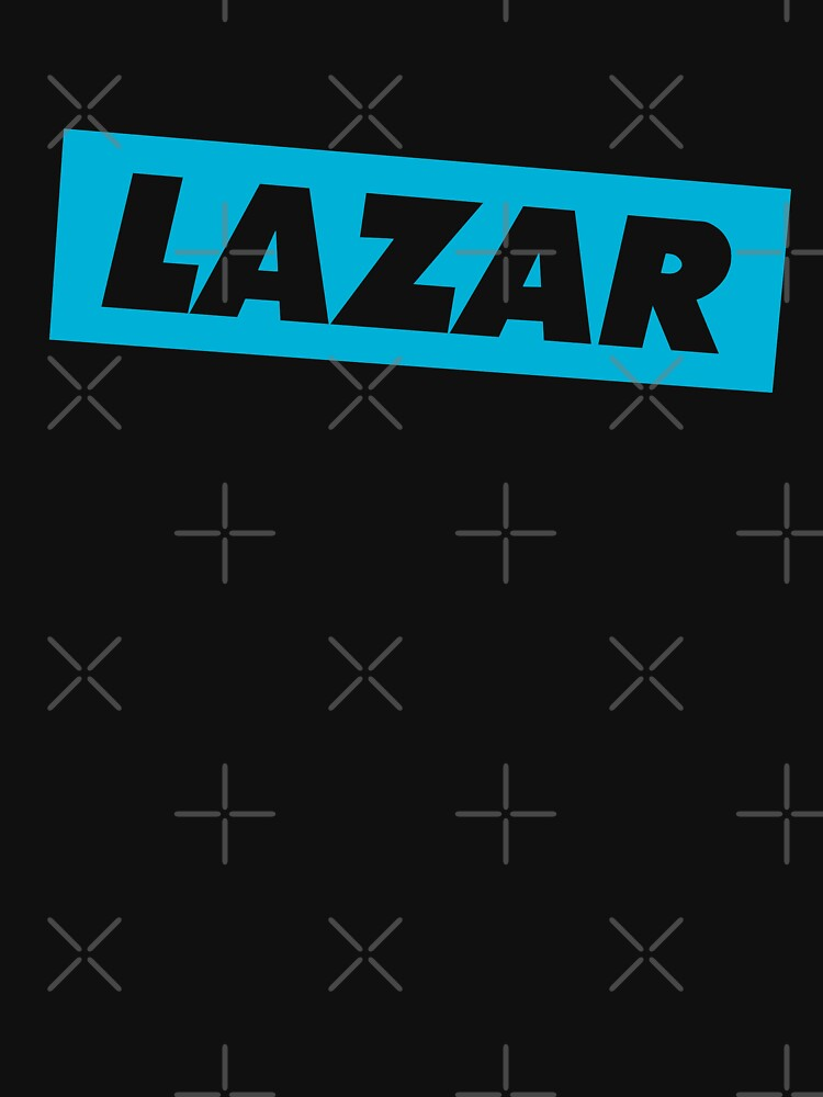 Lazar - Blue Logo by TheBeatlesArt