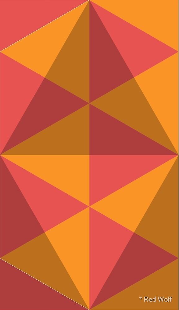 Geometric Pattern: Overlay: Sunrise by * Red Wolf