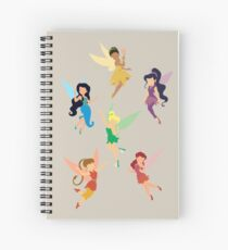 Fairies Spiral Notebook