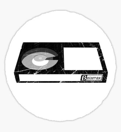 Betamax Tape Sticker