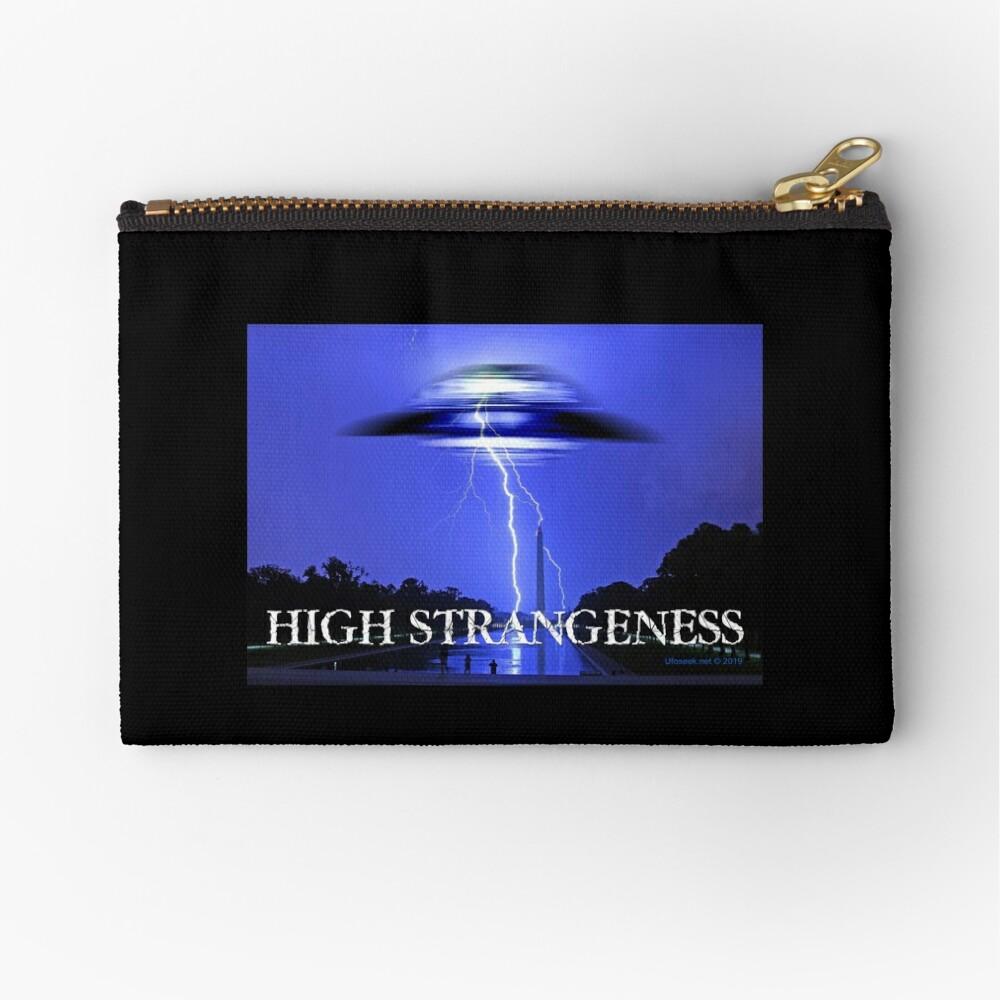 High Strangeness Zipper Pouch