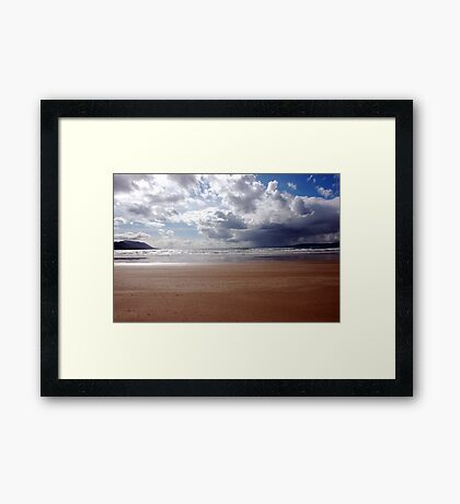Storm over Dingle Bay, Kerry, Ireland 3 Framed Print