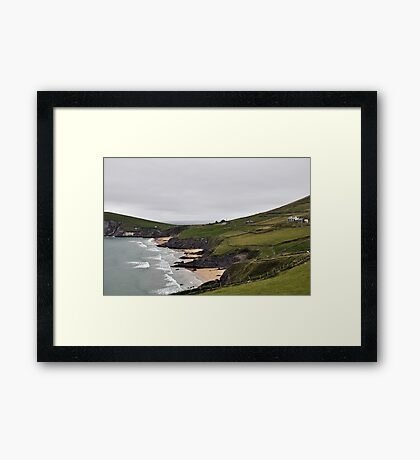The End of Europe,  Dunquin, Kerry, Ireland 2 Framed Print