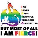 Fierce Pride by ferinefire