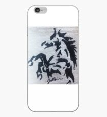 Wild mustang iPhone Case