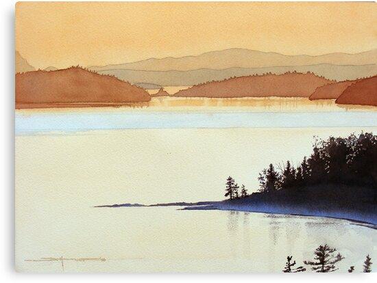 Tea Rose Twilight by Douglas Hunt