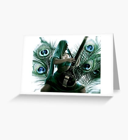 Outburst Greeting Card
