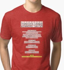 Liverpool FC Road To Champions League-Sieger (ROT) Vintage T-Shirt