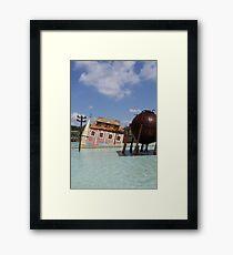 Thorpe backdrop Framed Print