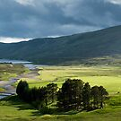Sunlight at Loch Garry by Mark Howells-Mead