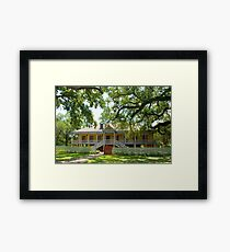 Laura Creole Plantation Framed Print