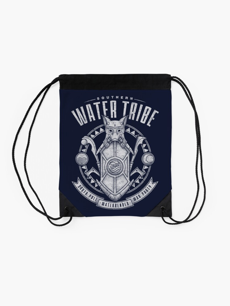 Alternate view of Avatar Southern Water Tribe Drawstring Bag