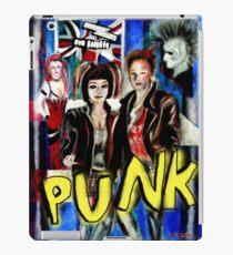 Punk Rock Style  iPad Case/Skin