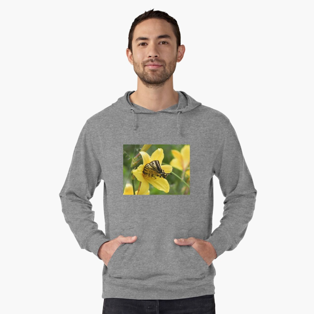 Gathering Lunch Lightweight Hoodie Front
