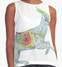 Carousel Goat Sleeveless Top