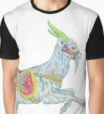 Carousel Goat Graphic T-Shirt