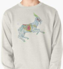 Carousel Goat Pullover Sweatshirt