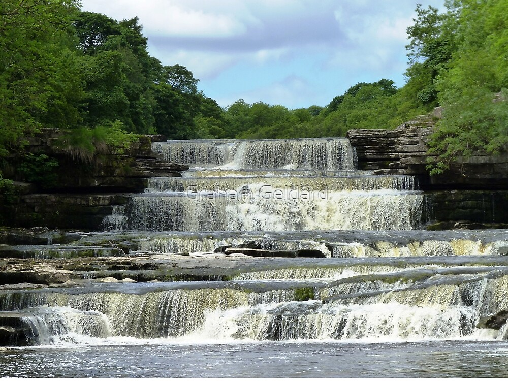 Aysgarth Falls #2 by Graham Geldard