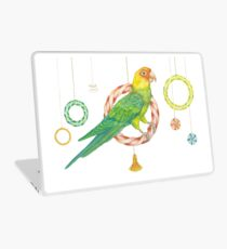 Candy Carolina Parakeet Laptop Skin