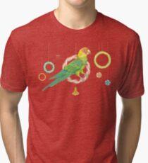 Candy Carolina Parakeet Tri-blend T-Shirt