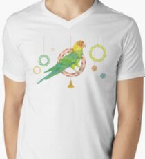 Candy Carolina Parakeet V-Neck T-Shirt