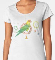 Candy Carolina Parakeet Premium Scoop T-Shirt