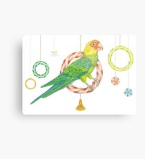 Candy Carolina Parakeet Metal Print