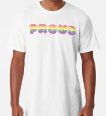 Proud - LGBT+  Long T-Shirt