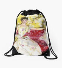 Zorn Lady Portrait Study Drawstring Bag