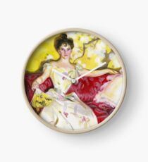 Zorn Lady Portrait Study Clock