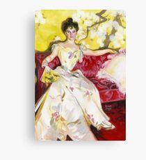 Zorn Lady Portrait Study Canvas Print