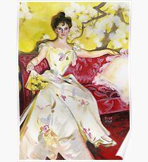 Zorn Lady Portrait Study Poster