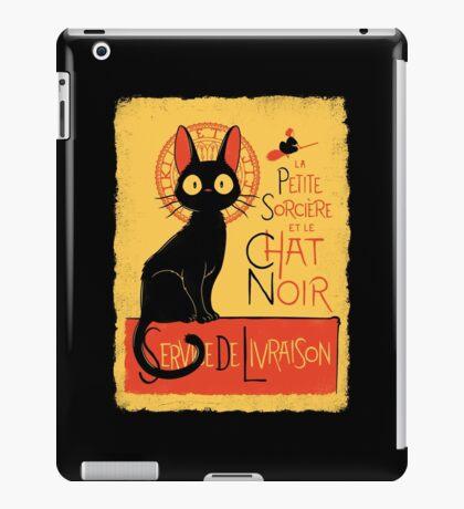La Petite Sociere et le Chat Noir - Service de Livraison iPad Case/Skin