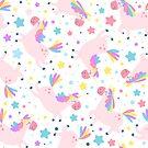 Happy Unicorns by Angela Sbandelli