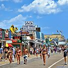Summertime At The Jersey Shore  by Lanis Rossi