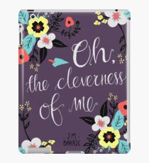 Oh! The Cleverness of Me! iPad Case/Skin