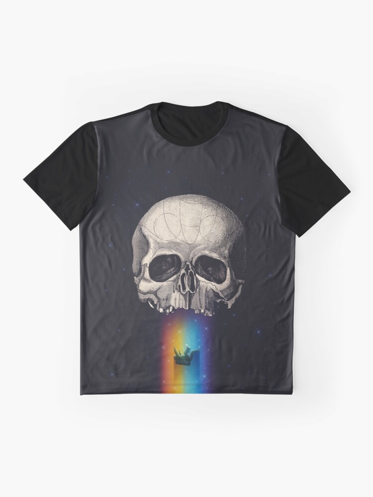 Alternate view of Iridescent Oblivion Graphic T-Shirt