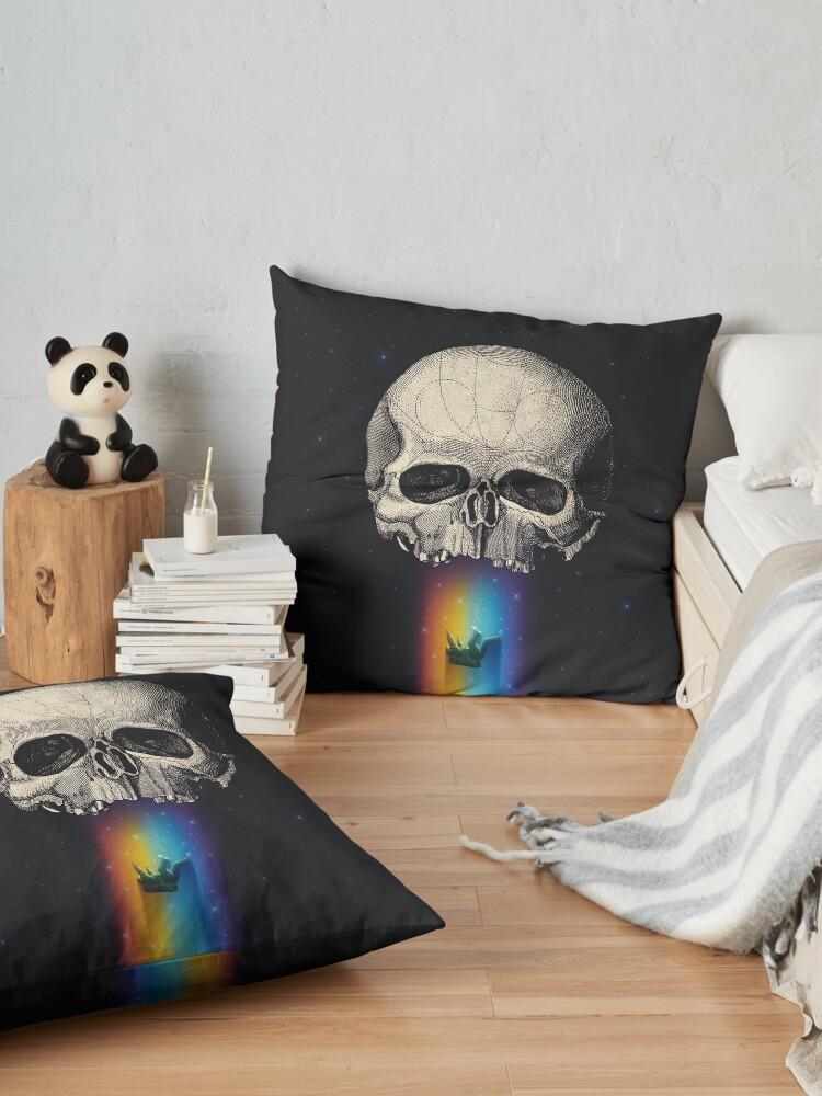 Alternate view of Iridescent Oblivion Floor Pillow