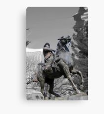 Pancho Villa rides through Tucson Canvas Print