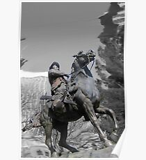 Pancho Villa rides through Tucson Poster