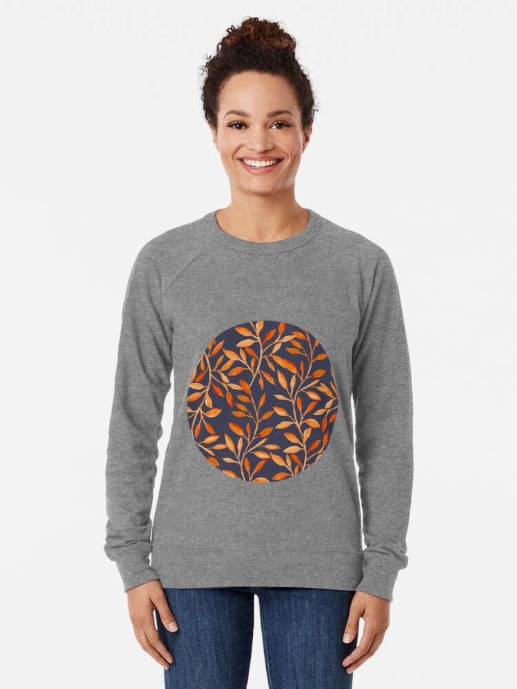 Alternate view of Autumn pattern Lightweight Sweatshirt