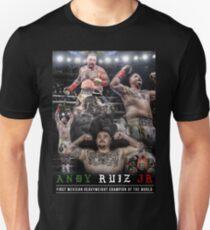 ANDY RUIZ JR, ANDY DAS ZERSTÖRER-SHIRT, ANDY RUIZ JR, ANDY RUIZ-SHIRT FAN ART & MERCH Slim Fit T-Shirt