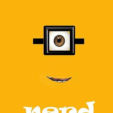 Nerd Minion by norawr