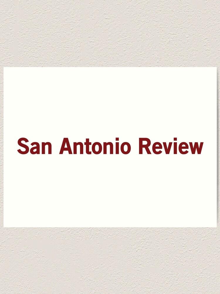 Alternate view of San Antonio Review Art Print