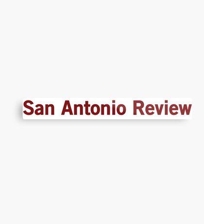 San Antonio Review Metal Print