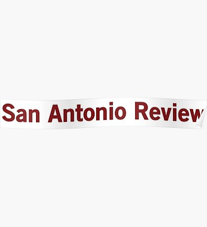 San Antonio Review Poster
