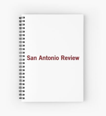 San Antonio Review Spiral Notebook